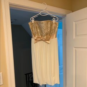 Adorable Jessica McClintock Strapless dress
